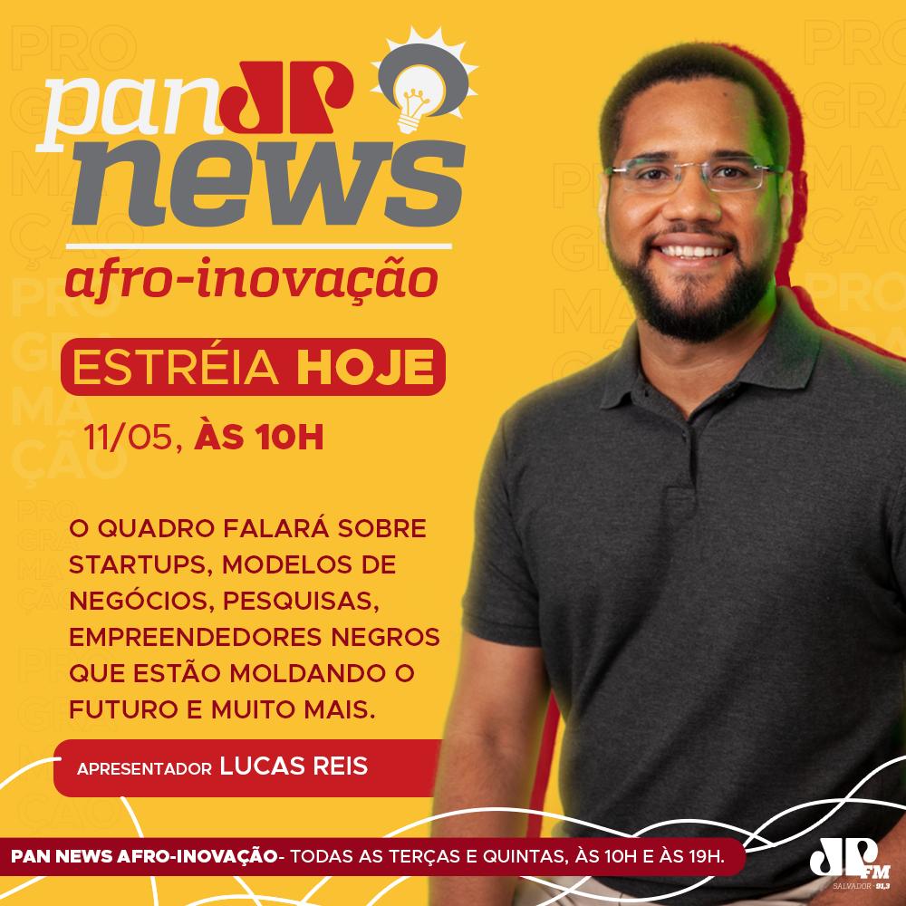Jovem Pan estreia colunas sobre saúde, finanças e afro inovação