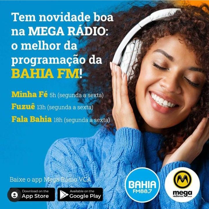 Programação da Bahia FM chega à cidade de Vitória da Conquista