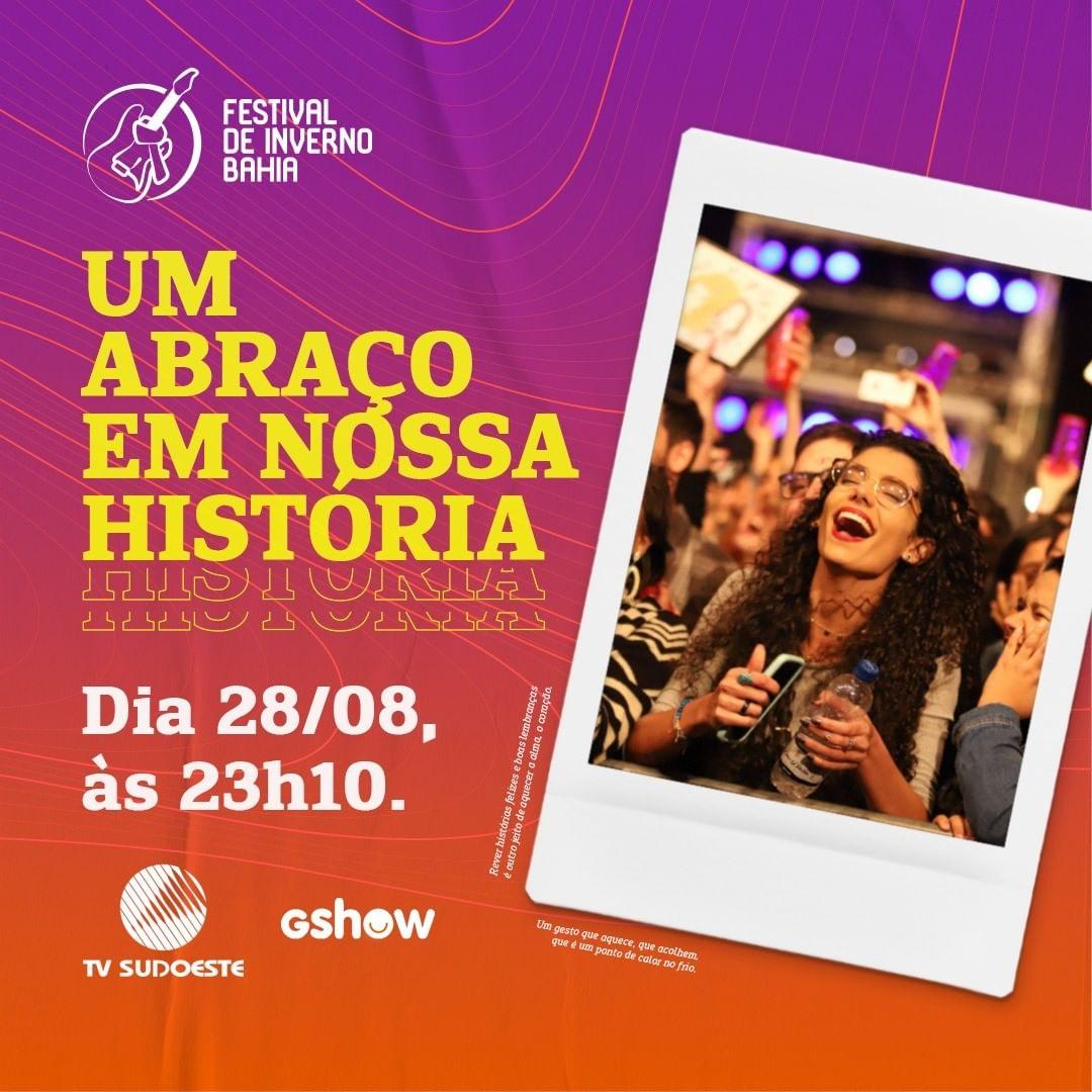 Especial Festival de Inverno Bahia trará memórias dos 15 anos de festa