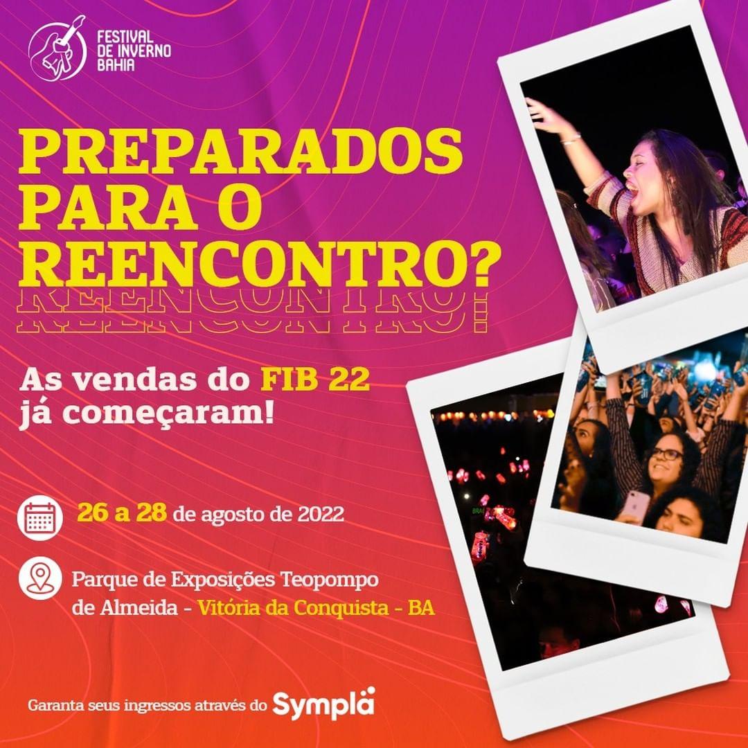Festival de Inverno Bahia 2022 define data e anuncia venda de ingressos